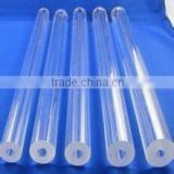 OD2~450mm high purity heat resistant clear quartz tube, high strength quartz glass tube borosilicate glass tube