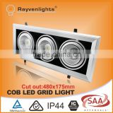45W Triple Gimbal AR111 High Quality COB LED Grid Lighting