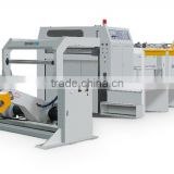 High speed 2 or 4 rolls GM1400 rotary cutting blade Kraft paper roll to sheets cutting machine