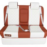 Electric car sofa with heater and massage for viano