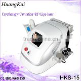 Body Cavitation Machine 40KHz Vacuum Fat Q Switch Laser Tattoo Removal Freezing Cavitation Rf Machine For Slimming Beauty Permanent Tattoo Removal