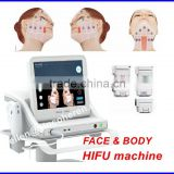Body & Face Forming Hifu Face Skin Tightening Lift Portable Ultrasound Machine Hifu Machine Back Tightening