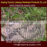Double Door Welded Wire Cage Bird Trap Bird Hunting Magpie Trap China Supplier