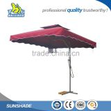 High quality beach outdoor large perfect design anti uv parasol sun patio garden parasol umbrella parts
