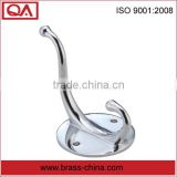 chrome plating brass robe hook for clothes
