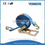 Cargo lifting equipment polyester strapping truck tie down straps