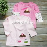 mom and bab 2012 100% cotton baby clothing,baby tshirt long ,china import clothes