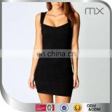Black free shipping bodycon dresses sexy mature ladies dresses vestidos de fiesta free pattern evening dresses black frocks