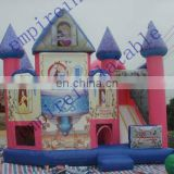 commercial bouncers,bouncy castle, art panel inflatable bouncers d008