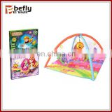 Hot sale new baby washable mat with cloth book