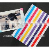 high quality DIY transparent PVC decorative photo sticker corner