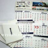 Custom best selling magnetic calendar