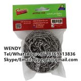 Stainless steel kitchen scourer