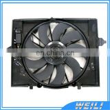 Electric Cooling Fan/ Radiator Fan Assembly 17427543282 17427514181 for BMWE60,E60LCI,E61,E61LCI,E63,E63LCI,E64,E64LCI,E65,E66