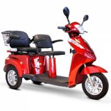 Mobility Scooter E-Wheels EW-66 2 Passenger Heavy Duty 500 Watt Electric Trike Three-Wheeled Mobility Scooter Price 850usd