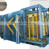 Wood plastic composite board machinery line