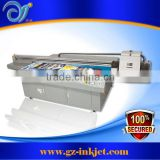 UV large format flatbed printer machine for glass, wood, MDF , acrylic printing (512/1024 konica head , 7 colors )