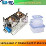 Mould factory wholesale supply High-quality plastic box mould 2013 thin rectangular clear plastic box plastic box mould