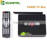 free air internet android 5.1 Lollipop octa Core tv box CSA 90 RK3368 1G with xbmc android google smart tv box CSA90                                                                         Quality Choice