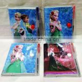 Frozen Fever Stationery Sets Elsa and Anna Ballpoint pen & Notebooks