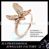 SLS BRAND butterfly ring strass 18k wholesale in China