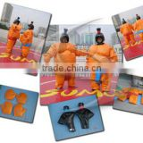 popular low price fat inflatable sumo suit for kids and adults