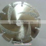 smooth cutting electroplated diamond saw blade for marble