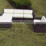 Rattan furniture decoration rattan balcony sofa set