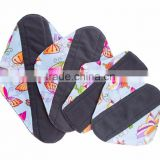 AnAnBaby New Waterproof Cloth Sanitary Pads Cheap Feminine Pads Mama Cloth Washable Menstrual Pads