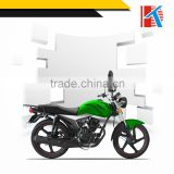 Traditional street driving electric or kick starter start mode small motorcycle for adult