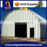 No Structure Screw Joint Arch Panel Building Machine/Bolts Or Nuts Steel Roof Building Machine
