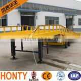 China factory sales 10 Ton Loading Capacity hydraulic loading ramps for trucks for Forklift