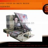 CD-1200 courier express bag foldding and making machine with hot melt glue machine