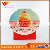 Chinese wholesale companies spiral table calendar printing