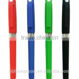 Office gel ink pen/plastic gel ink pen/ removable ink pen