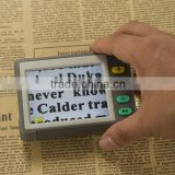 3.5 inch Handheld Portable LCD Video Digital Magnifier in 7 Color with Modes Battery Powered TV out Zoom Freeze