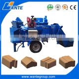 WT2-20M diesel engine block and brick making machine,interlocking stabilized soil block machine