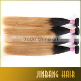 2016 Alibaba wholesale Brazilian virgin hair ombre human hair silk straight human hair weaving