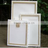 Pre primed Blank stretched canvas frame for oil painting, Blank canvas for painting                                                                         Quality Choice