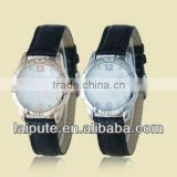 2013 Fashion Style a pair classic fashion leather strap sport couple watches pair watches