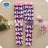 (G5229) 2-6y baby clothes leggings girls wear wholesale printed butterfly kids pants long legging pants children clothes