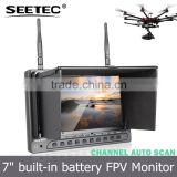 7 inch fpv radio transmitter mini camera rc hexacopter airplane uav lcd wireless monitor smart drone                                                                         Quality Choice