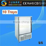Industrial blast chiller and freezer/air blast freezer for sale