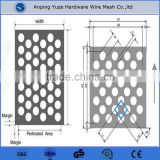 round hole perforated metal sheet /perforated plate with very competitive price and good qualtity