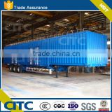 Made in China 3 axles van semi trailer/box trailer/refrigerated trailer for sale