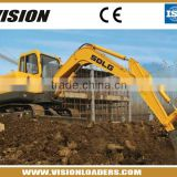 MINI Construction Machinery Excavator SDLG LG680E                                                                         Quality Choice