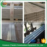 perforated scaffolding material types and names scaffold planks