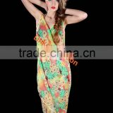 Floral Chiffon Sarong Scarf Dress Wrap Pareo Beach Bikini Cover up Swimwear cheap pareo