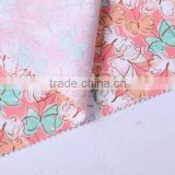 pvc coating printed cotton twill gabardine fabric for bags