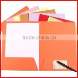 Custom Unique Design Color Paper File Folder Wholesale